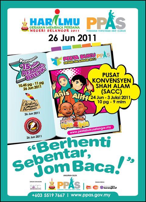 Hari Ilmu dan Pesta Buku Selangor 2011