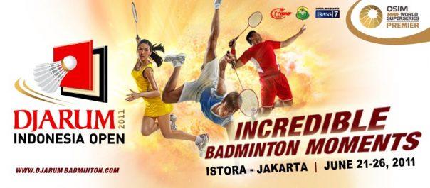 Badminton Djarum Terbuka Indonesia 2011