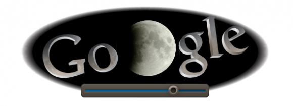 Google doodle gerhana bulan penuh