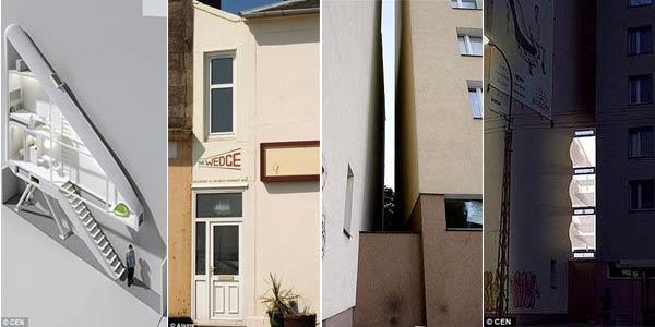 Rumah Paling Sempit Di Dunia