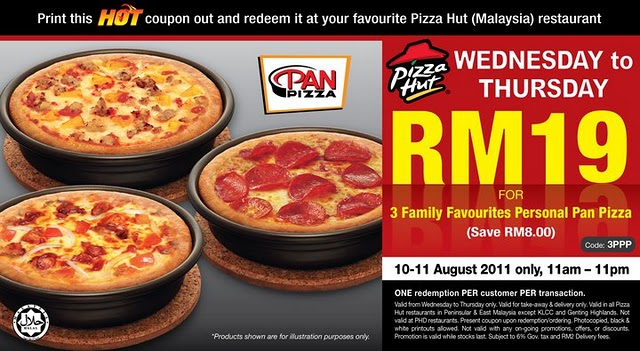 Coupon Pizza Hut