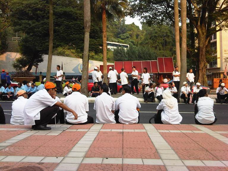 Raptai Perbarisan Hari Kemerdekaan Ke-54 dan Hari Malaysia 2011