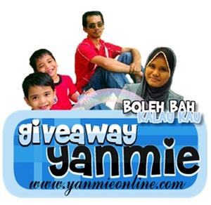 Giveaway Yanmieonline.com
