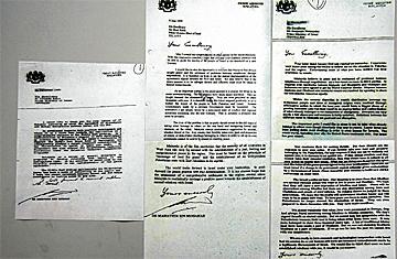 3 Surat Dr Mahathir Kepada Israel
