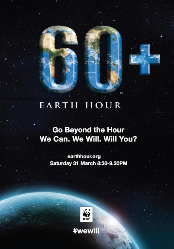 Kempen Earth Hour 2012
