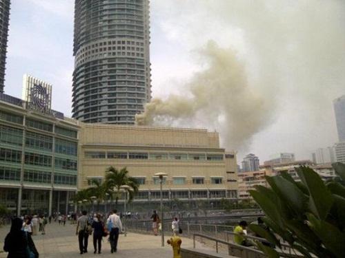 Suria KLCC Terbakar 1