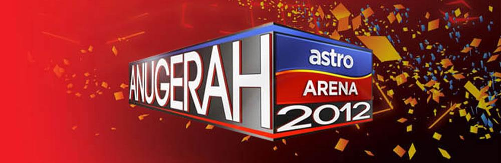Keputusan Penuh Anugerah Astro Arena 2012