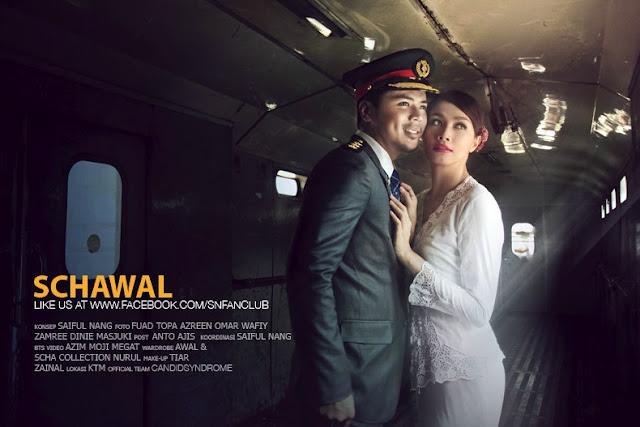 Pra Perkahwinan Awal & Scha 1