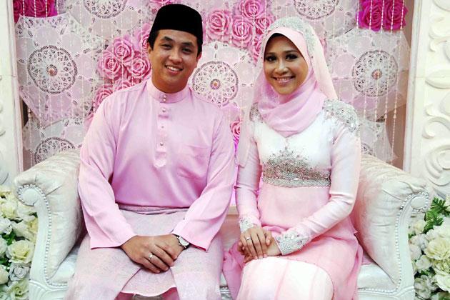 Gambar Pertunangan Akma AF & Farih Hamshi 1