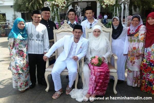 Gambar Majlis Perkahwinan Farid Kamil & Diana Danielle 1