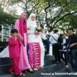 Gambar Majlis Perkahwinan Farid Kamil & Diana Danielle 4