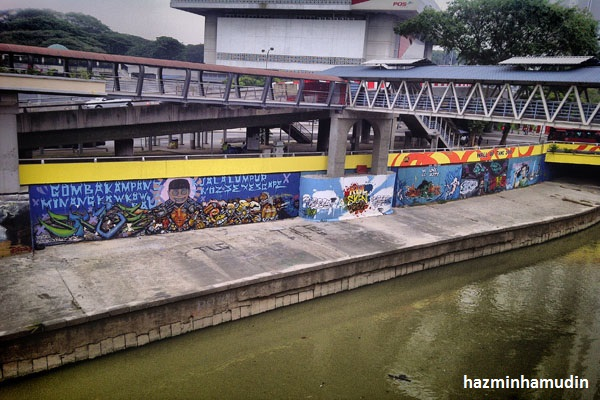 Graffiti Sungai Klang 1