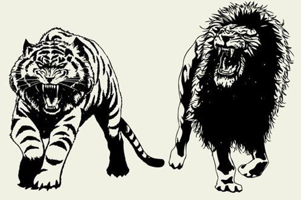Harimau Malaya vs Singa