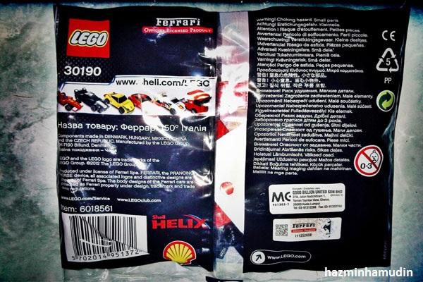 Kereta Mini Ferrari LEGO 2