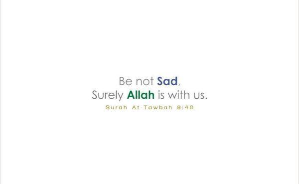Allah Sentiasa Bersama Kita