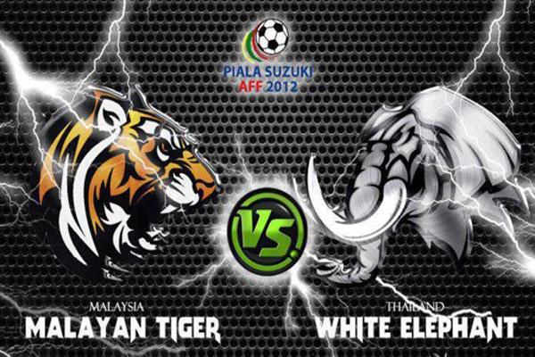 aff suzuki cup 2012, malaysia vs thailand