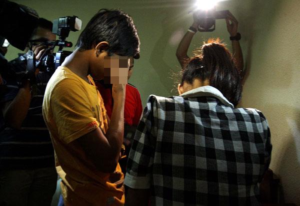 Budak 13 Tahun Ditangkap Khalwat
