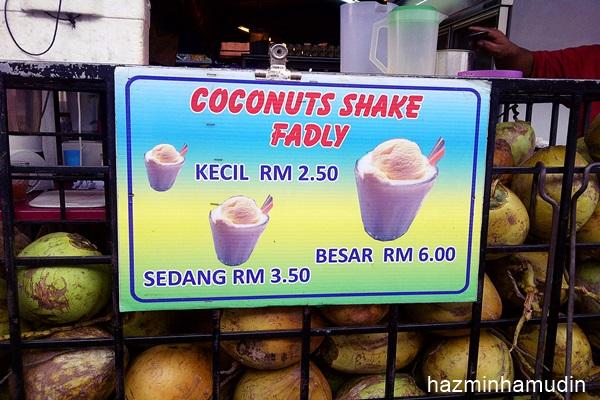 Coconuts Shake Fadly Sri Serdang