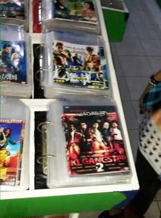 DVD Cetak Rompak KL Gangster 2