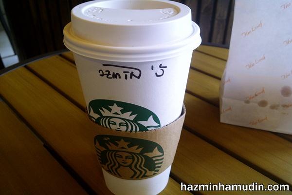Siang Malam Minum Starbucks Coffee