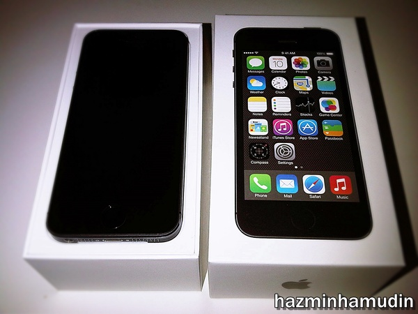 iPhone 5s Hadiah Hari Lahir