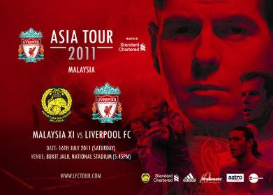 Malaysia vs Liverpool Asia Tour 2011