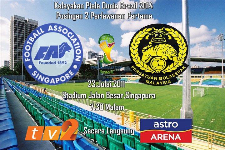 Malaysia vs Singapura