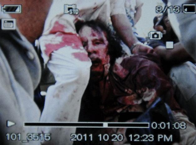 Muammar Gaddafi Terbunuh