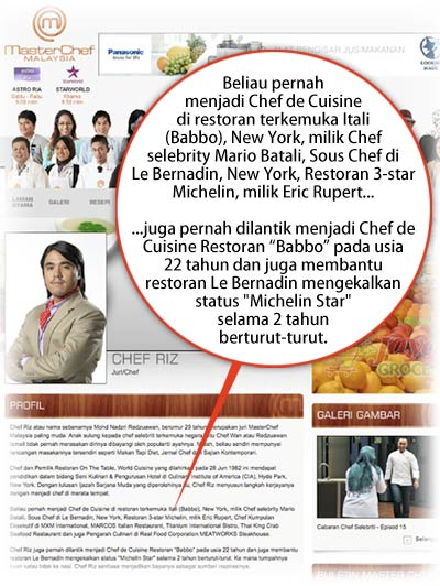 Chef Riz Tipu Resume