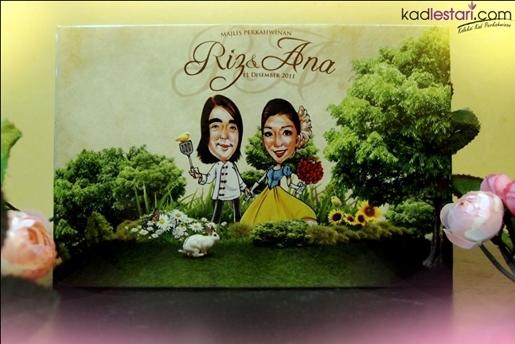 Kad Kahwin Chef Riz dan Ana Dahlia 3