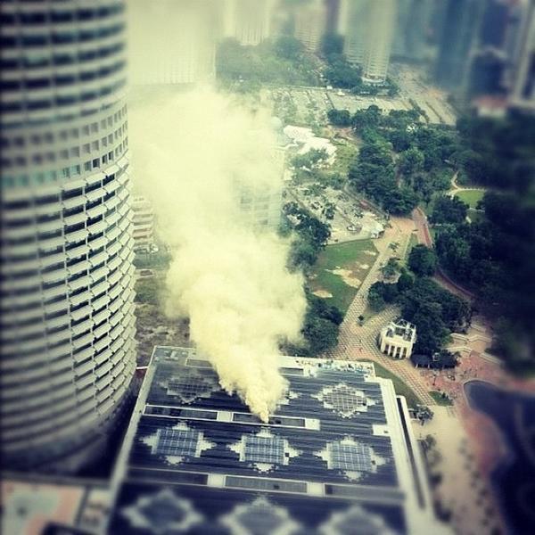 Suria KLCC Terbakar 3
