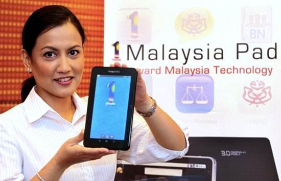 Tablet 1Malaysia Pad 1