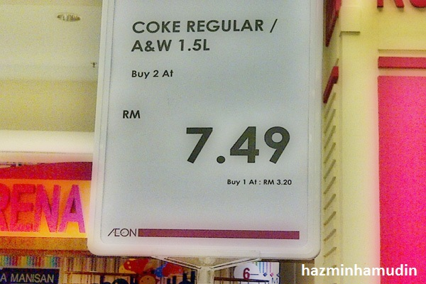 Harga Coke