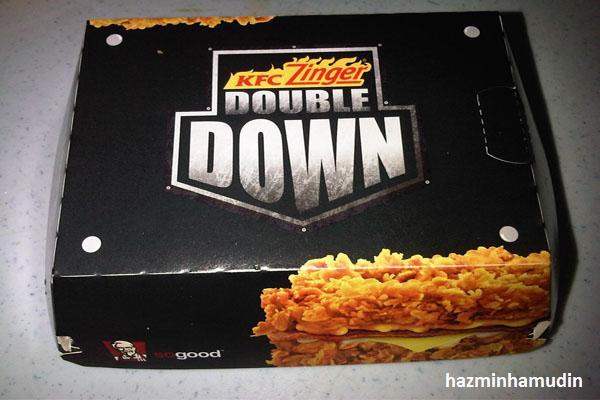KFC Zinger Double Down 1