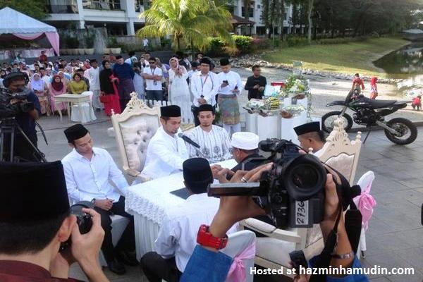 Gambar Majlis Perkahwinan Farid Kamil & Diana Danielle 2