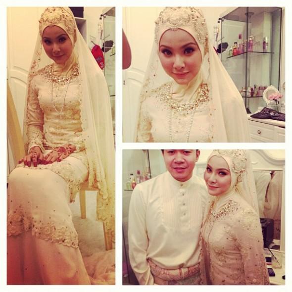Gambar Pernikahan Apek & Leuniey 3