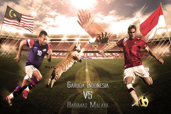 Malaysia vs Indonesia Piala AFF Suzuki