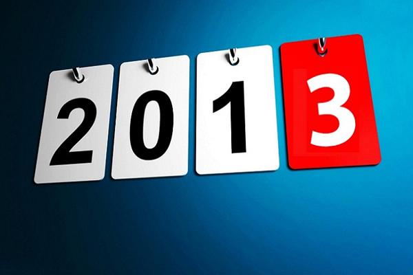 Selamat Tahun Baru 2013