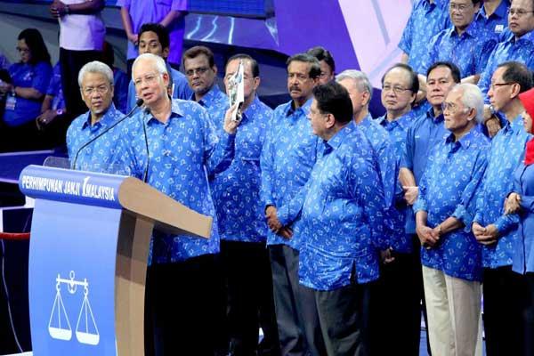 Pelancaran Manifesto Barisan Nasional 2013