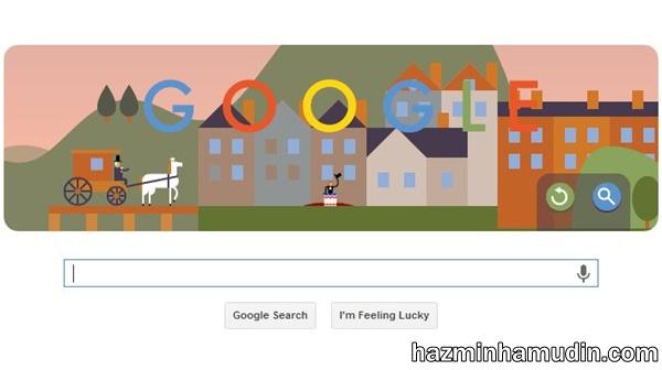 Google Doodle Payung Terjun