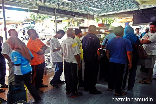 Nasi Kandar Kampung Melayu, Air Hitam (2)