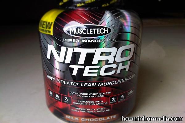 Nitro Tech Performance Series 4 Lbs