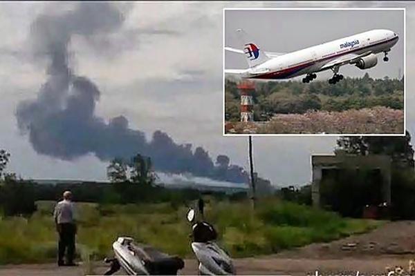 Pesawat MH17 Terhempas