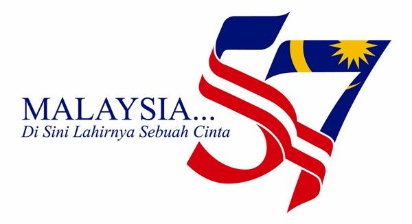 Logo Merdeka Ke 57