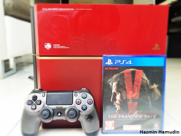 Metal Gear Solid 5 PS4 Console